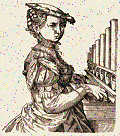 Keyboard Musicians - Renaissance Woman Organ Player